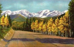 Colorado Rocky Mountains The Mummy Range Curteich