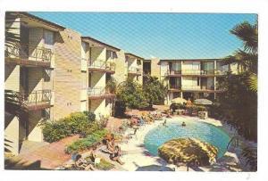 Swimming Pool, El Cortez Apartment Hotel, Phoenix, Arizona, 40-60s