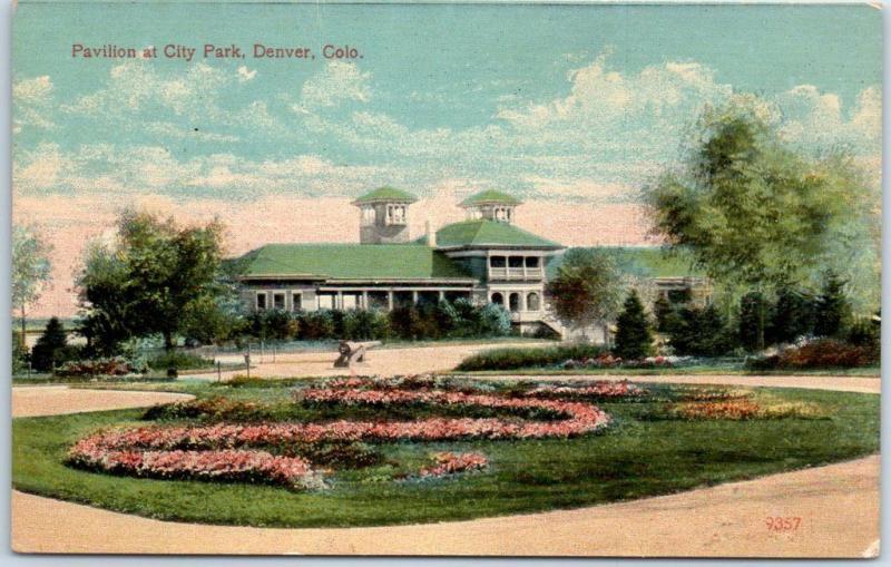 Denver, Colorado Postcard \