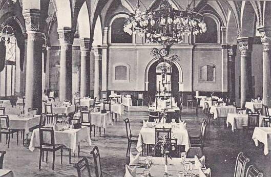 Germany Konstanz Insel Hotel Speisesaal