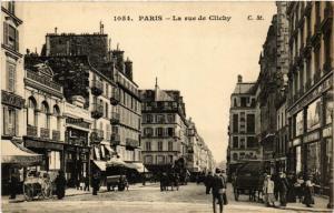 CPA AK PARIS (9e) Rue de Clichy. (534531)