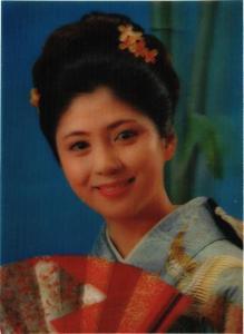 CPM Wink girl 3D postcard JAPAN (677882)