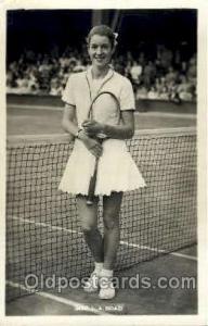 MRS. L.A. Hoad Tennis, Old Vintage Antique, Post Card Postcard  MRS. L.A. Hoad