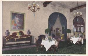 The Mary Louise, Dining Room, LOS ANGELES, California, 00-10's