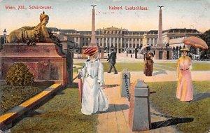 Schonbrunn, Kaiserl Lustschloss Wien XIII Austria Postal Used Unknown