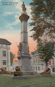 BINGHAMTON, New York, 1919 ; Soldiers Monument