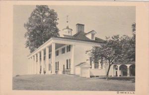 Virginia Mount Vernon East Front Mount Vernon Mansion Home Of Washington