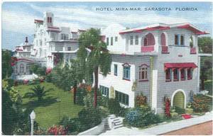 D/B Hotel Mira-Mar Sarasota Florida FL