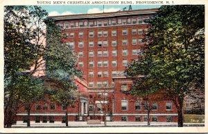 Rhode Island Providence Y M C A Building 1933
