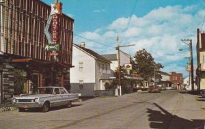Rue Notre Dame , CAP CHAT , Quebec , Canada , 40-60s