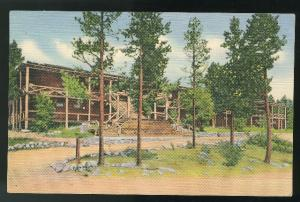CO Grand Lake Lodge CO Rocky Mountain National Park 1936 Curteich Linen Postcard