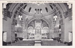 Chapel Of Perpetual Adoration, Hospital Sisters Of St. Francis, SPRINGFIELD, ...