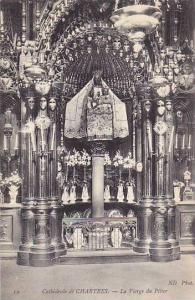 La Vierge Du Pilier, Cathedrale De Chartres (Eure et Loir), France, 1910-1920s