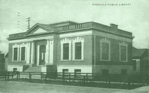 Missoula Montana~Carnegie Public Library~1908 To Kinsman, Oskaloosa Iowa PC