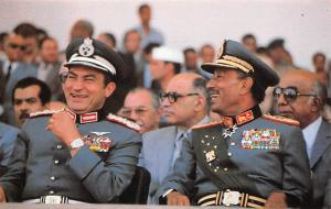 Egypt, Egypte, Africa Just moments before his death, Egyptian President Anwar...