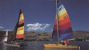 [BC] : Sailboats , John Watson MCIM Marketing Consultant , VERNON , B.C. , Ca...