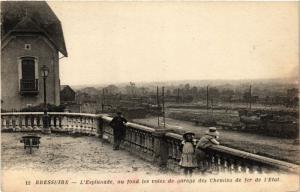 CPA BRESSUIRE L'Esplanade su fond les voies de garage de Chemin de... (297458)