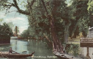 TONBRIDGE , York , England , 1906 ; River Medway