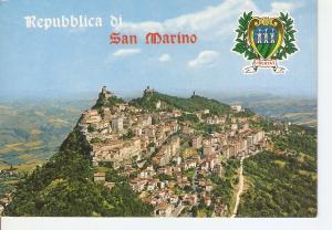 Postal 030163 : Repubblica di San Marino Veduta aerea