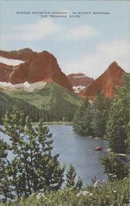 Montana Rugged Mountain Scenery In Mighty Montana The Treasure State