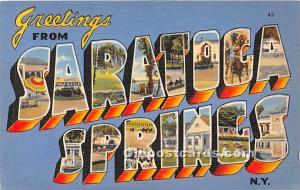 Saratoga Springs, New York, NY, USA Unused