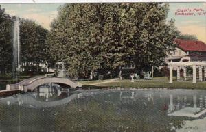 New York Rochester View In Clark's Park 1911