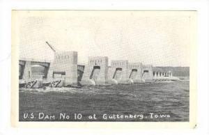 U.S. Dam No. 10, Guttenberg, Iowa, 1947