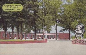 Tennessee Shelbyville Magnolia Motel
