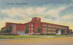 Montana Billings High School 1949