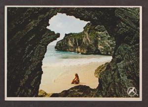 Natural Arches & Beach South Shore, Bermuda - Unused