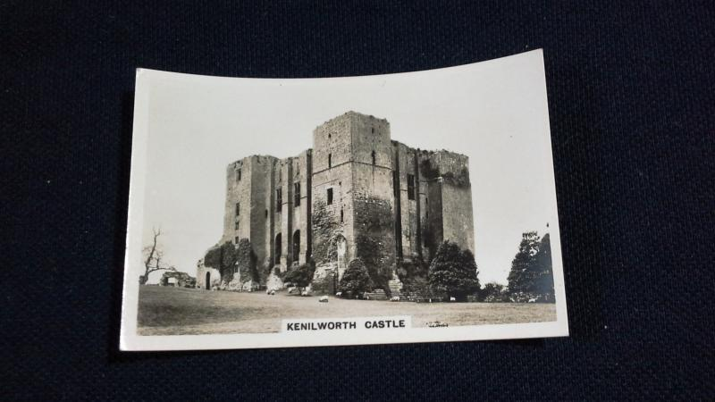 Senior Service Cigarette Card No 21 Sights Of Britain Kenilworth