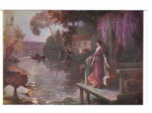 The Exquisite Hour M Hippolyte Lucas Salon de Paris Painting Neurdein F Postcard
