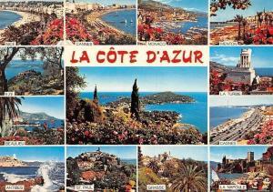 France La Cote d'Azur multiviews Nice Cannes Eze Beaulieu Antibes Grasse