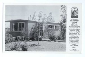 RPPC Trailers Provided for Atomic Bomb Workers, Richland, WA,