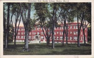 Richardson Hall Hardin College Mexico Missouri 1930