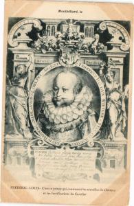CPA MONTBÉLIARD - Frédéric-Louis - c'est ce prince qui construisit .. (183095)