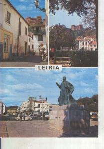 Postal 014389: Vistas varias de Leiria, Portugal