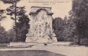 Monument Commemorating Battle Of Pronceton New Jersey Albertype