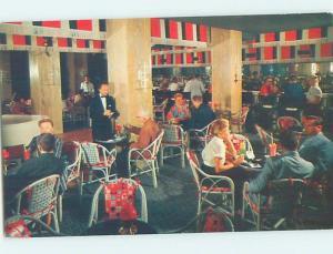 Pre-1980 RONEY PLAZA HOTEL BAMBOO ROOM RESTAURANT Miami Beach Florida FL G8236