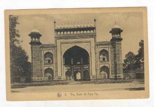 The Gate Of Agra Taj, India, 1900-1910s
