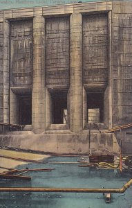 PANAMA, 1900-1910s; Intakes, Miraflores Locks, Panama Canal