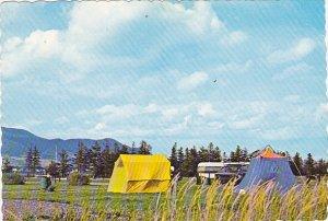 Canada Le terrain de camping Carleton Quebec