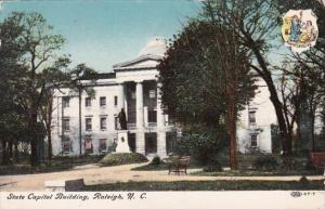 North Carolina Raleigh State Capitol Building 1907