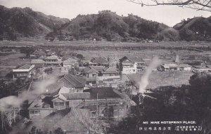Mine Hotspriny place , Japan , 1920s