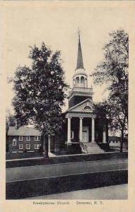 New York Geneseo Presbyterian Church Albertype