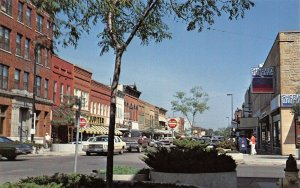Faribault Minnesota~Downtown~Jupiter Store~Sherwin Williams Paint~1970s Cars~PC