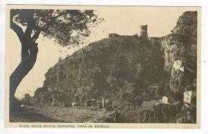 RP  Torre Della Regina Giovanna, Vista de Ravello, 1910-30s