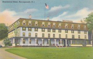 NARRAGANSETT, Rhode Island, 1930-40s; Beachwood Hotel