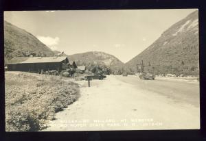 Crawford Notch, New Hampshire/NH Postcard, Mts Willey/Willard/Webster