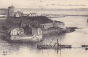 Brest , France , 00-10 ; Le Semaphore et l'entree du Port de Guerre